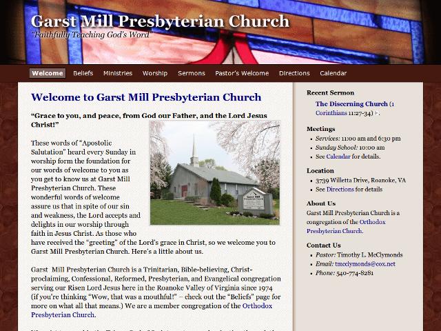 Garst Mill Presbyterian Church