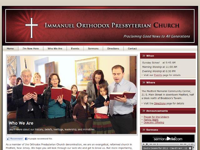 Immanuel Orthodox Presbyterian Church