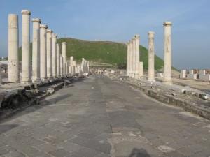 Photo of Roman road in Israel, by Ori