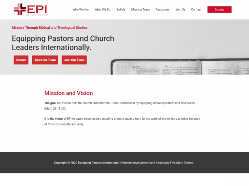 Equipping Pastors International