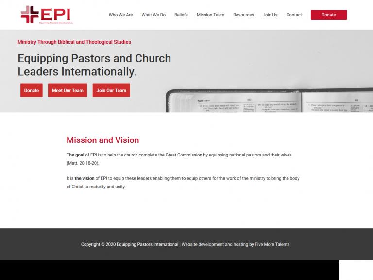 Equipping Pastors International